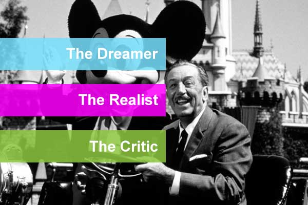 Disney's Creative Strategy: The Dreamer, The Realist and The Critic