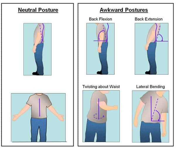 ergonomics neutral posture