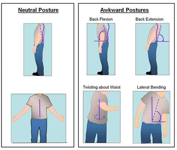 ergonomics neutral posture