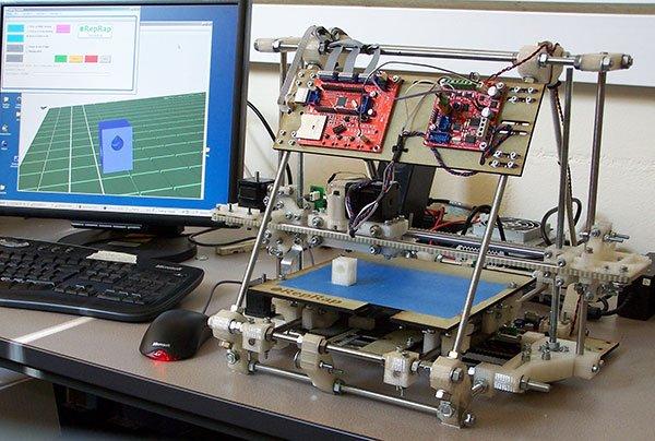 riprap 3d printers