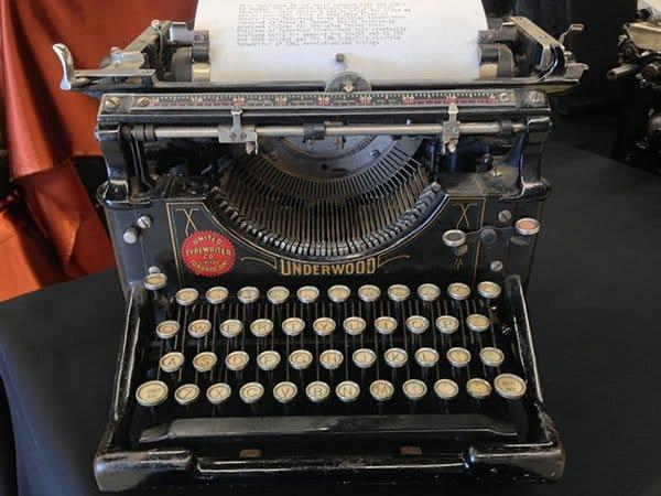 Underwood No. 5 Typewriter