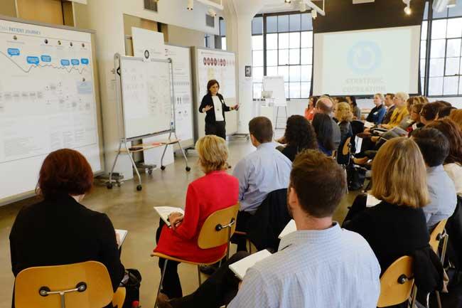 design thinking in NextD Leadership