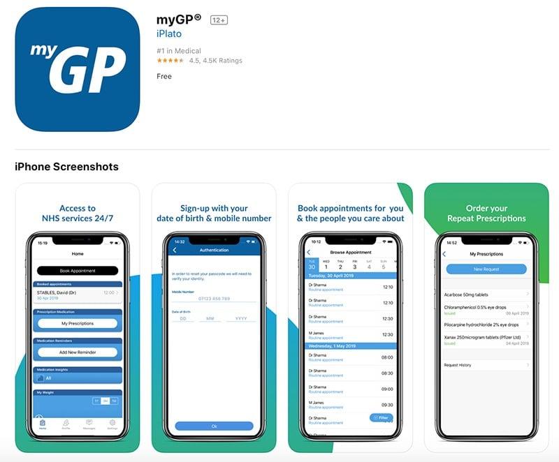 Health tech app