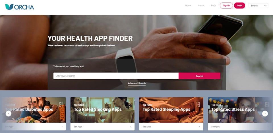 Orcha health app